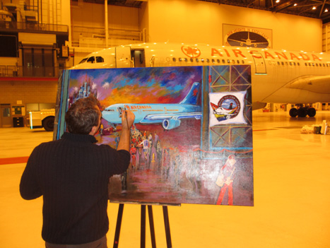 Kevin Jenne Live Event Painting