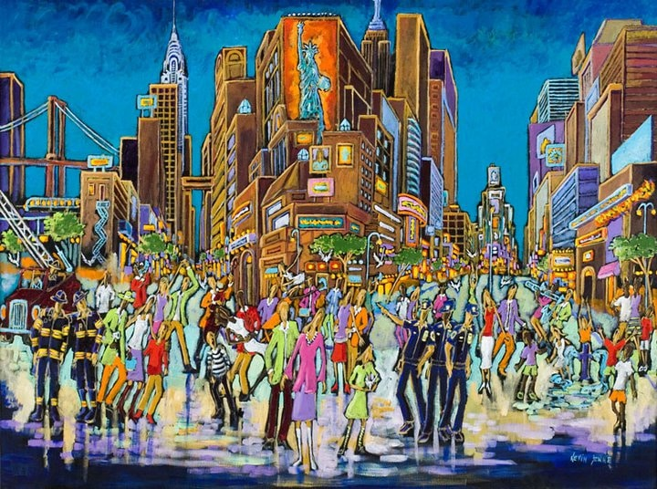 New York painting by Kevin Jenne