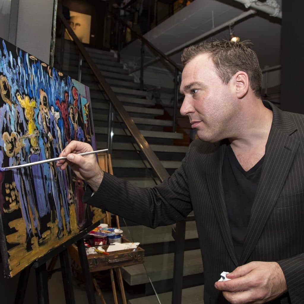 Corporate Live Painting Sisco